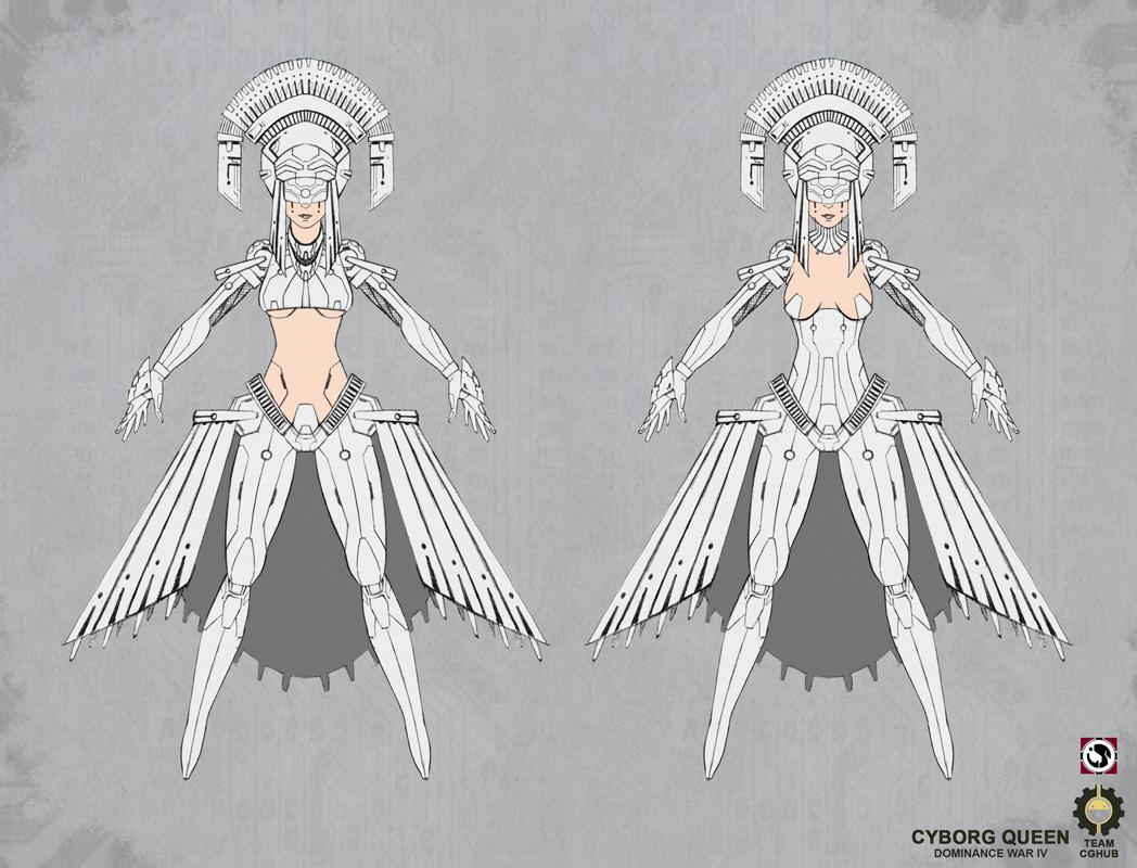 Cyborg Queen - IPS 03 by J-Sty1e