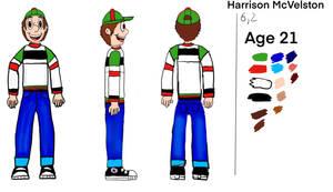 Harrison model sheet