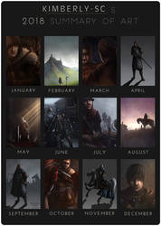 2018 Summary of Art by Kimberly-SC