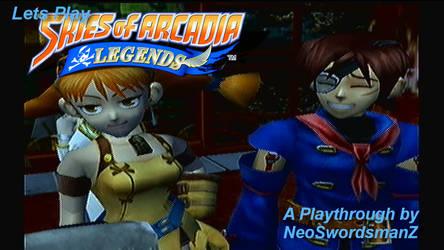 Skies of Arcadia Legends SS - Yafutoma Arc by NeoSwordsmanZ