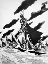 dark warrior by nikoskap