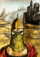 Desert warrior by nikoskap