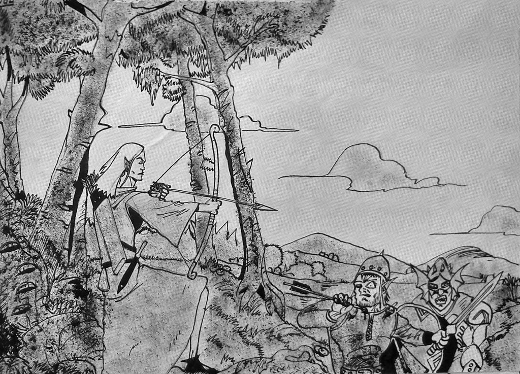 Elf Archer by nikoskap