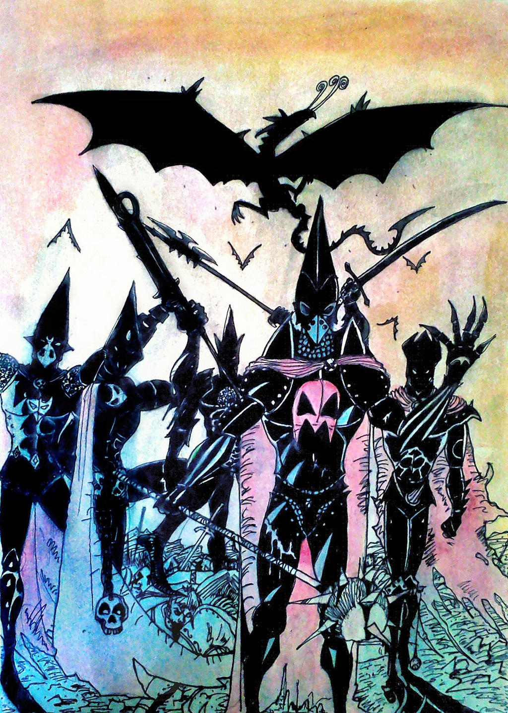 Knights Of Shadow by nikoskap