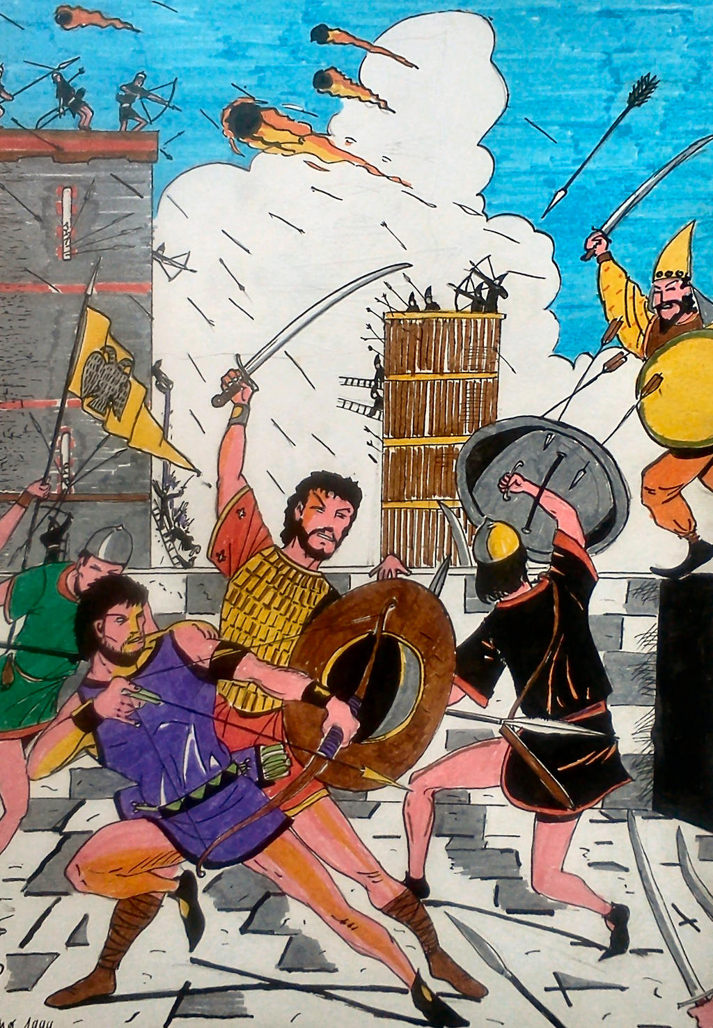 Siege by nikoskap