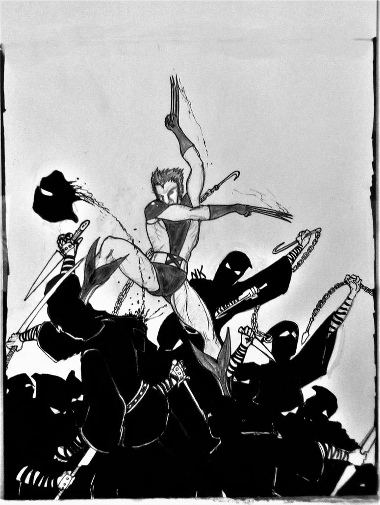 Wolverine doodle by nikoskap