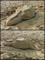 Sand sculpture 04 by AlienDrawer