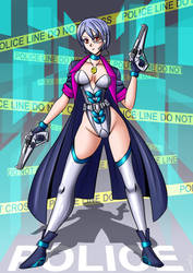 Cyberpunk Detective by carrot25