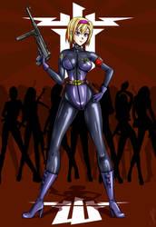 Wolfenstein Elite Guard Babe by carrot25
