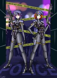 SWAT Girls by carrot25