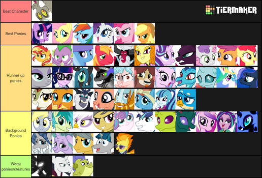 The Definitive Answer to Whose Best Pony