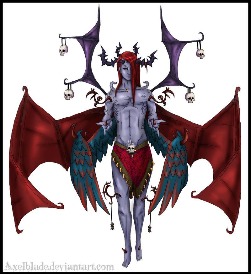 Lucifer Azrael: Lucifer By AxelBlade On DeviantART