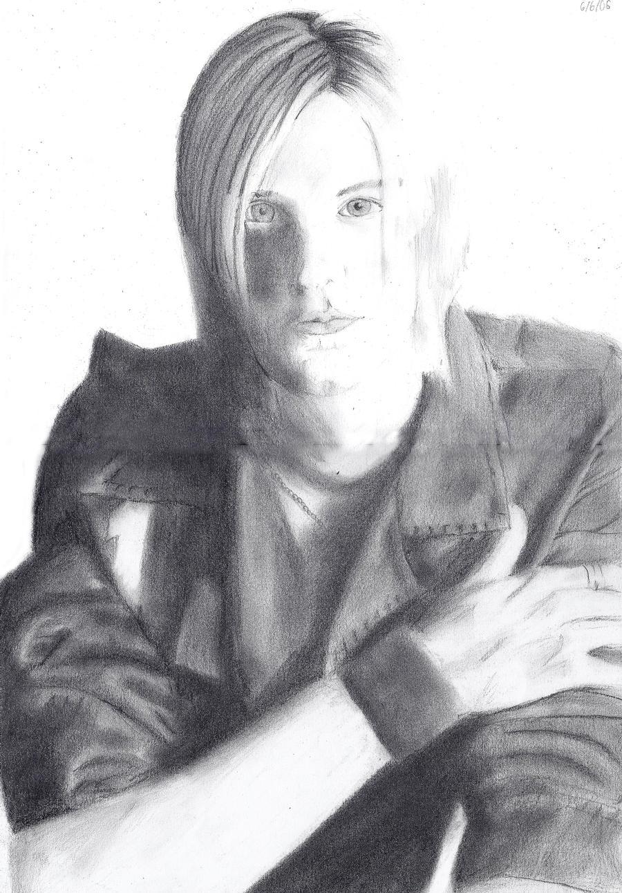 Alex Band Portrait by Charlene-Art