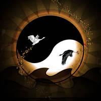 Birds of Yang II by Charlene-Art