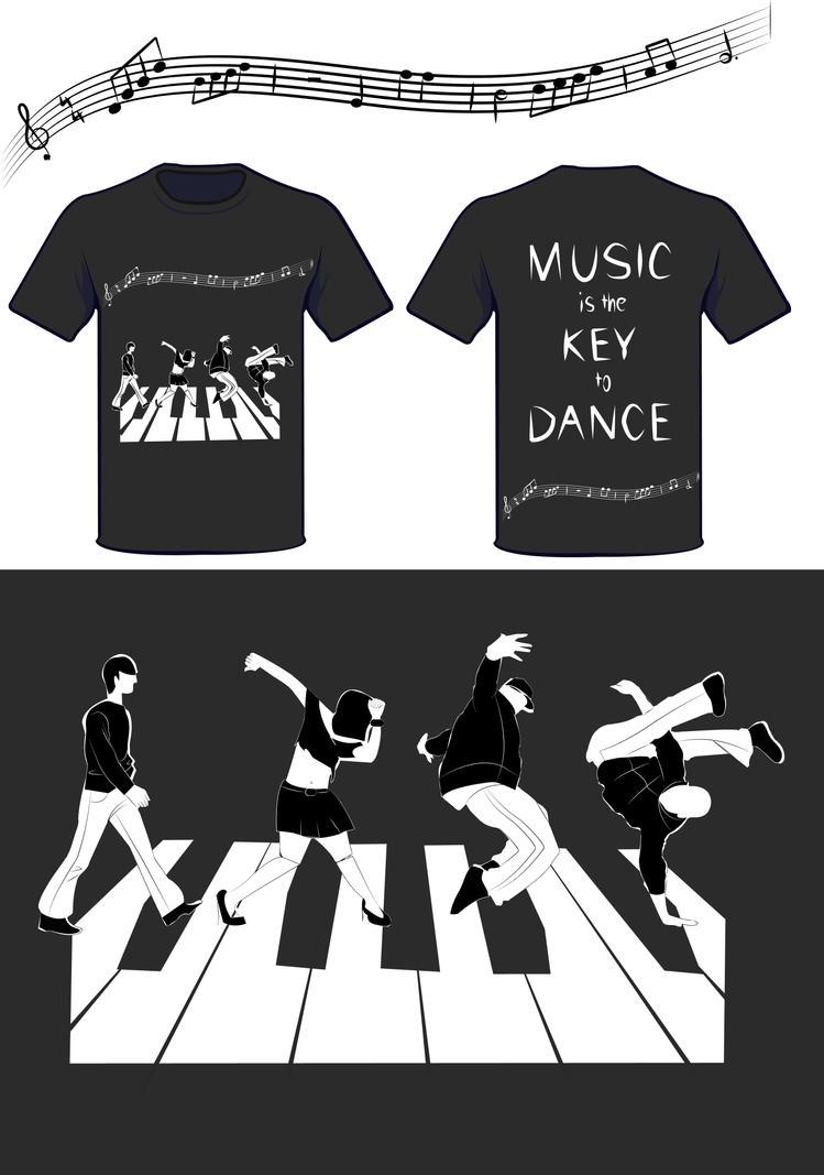 Music Is The Key To Dance By Charlene Art On Deviantart