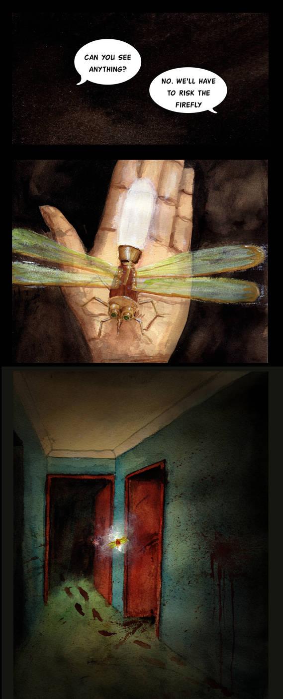 The Firefly by Charlene-Art