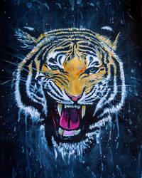 Tiger by Charlene-Art
