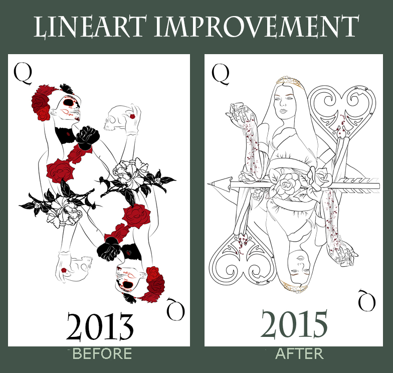 Lineart Improvement by Charlene-Art
