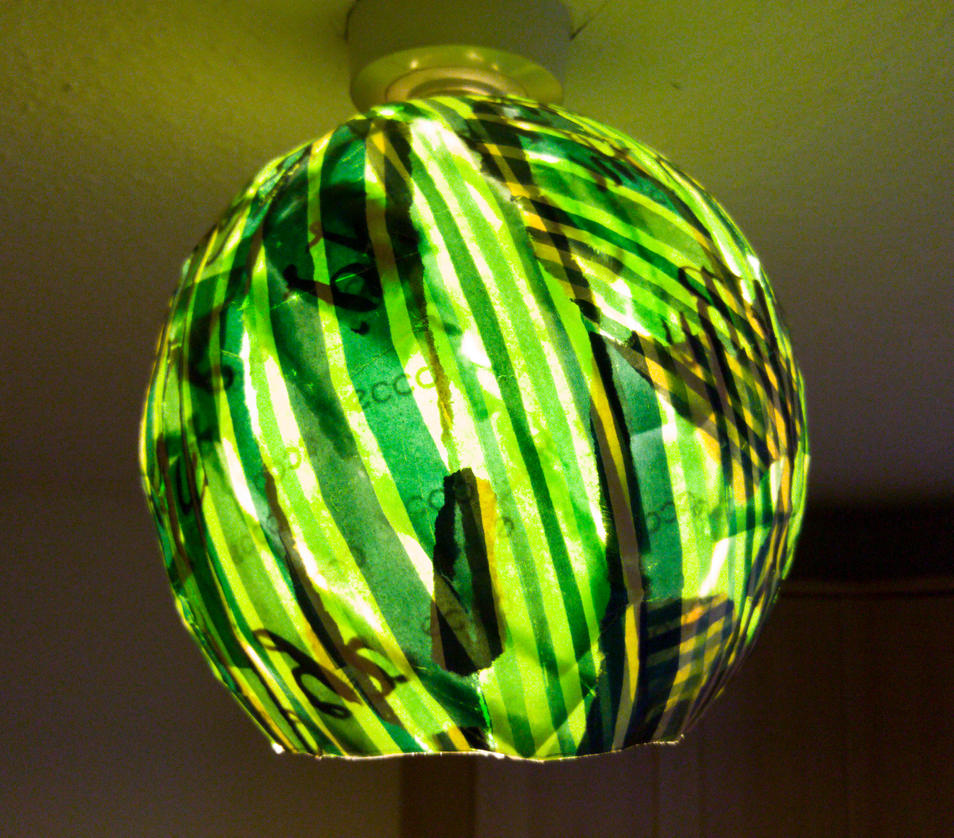 Green Lightshade by Charlene-Art