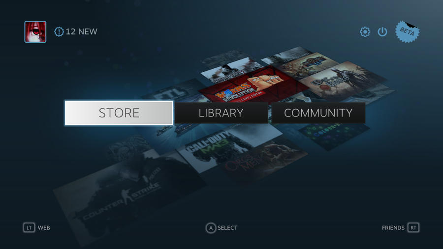 New Steam update is very nice looking :D by NinjaKirky15