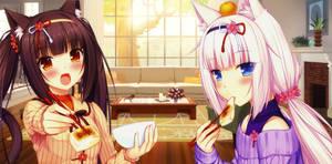 Chocola and Vanilla (NekoPara)