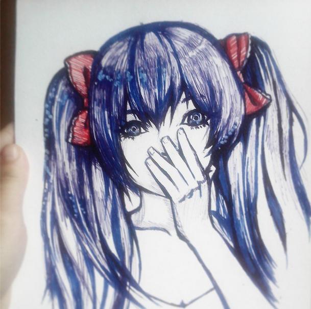 Anzujaamu Sketch by Sayori-Tazura