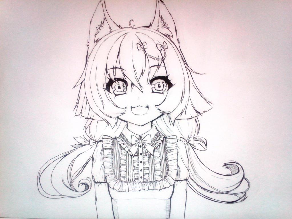 Sketch. Inu... by Sayori-Tazura