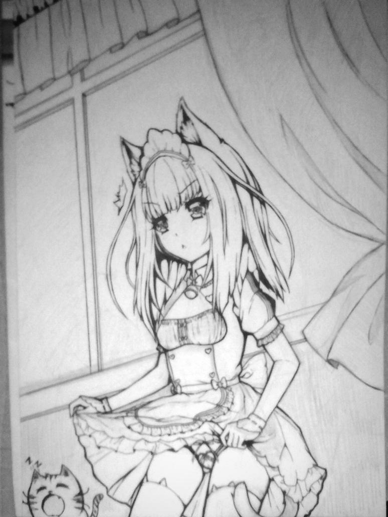 Awww...sketch is finished. by Seira-Hirano