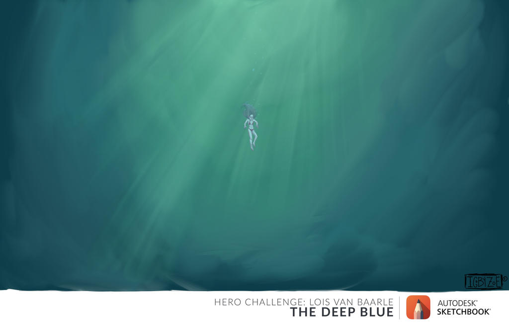The Deep Blue by noon2midnight