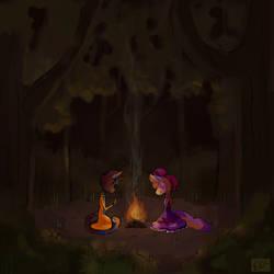 Campfire by A-Mutt