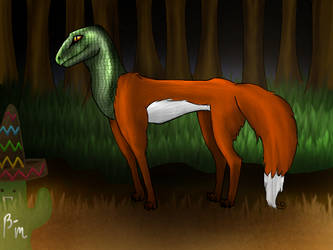Good evening, Mr...Fox? by Batafurai-Mori