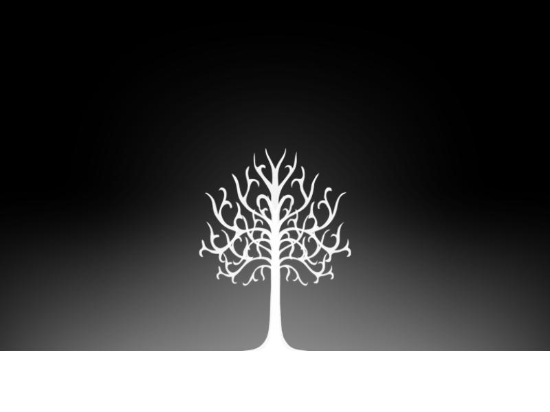 the white tree of gondor by playcell on deviantart