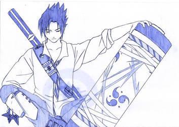 Scroll - Sasuke by Vegigi