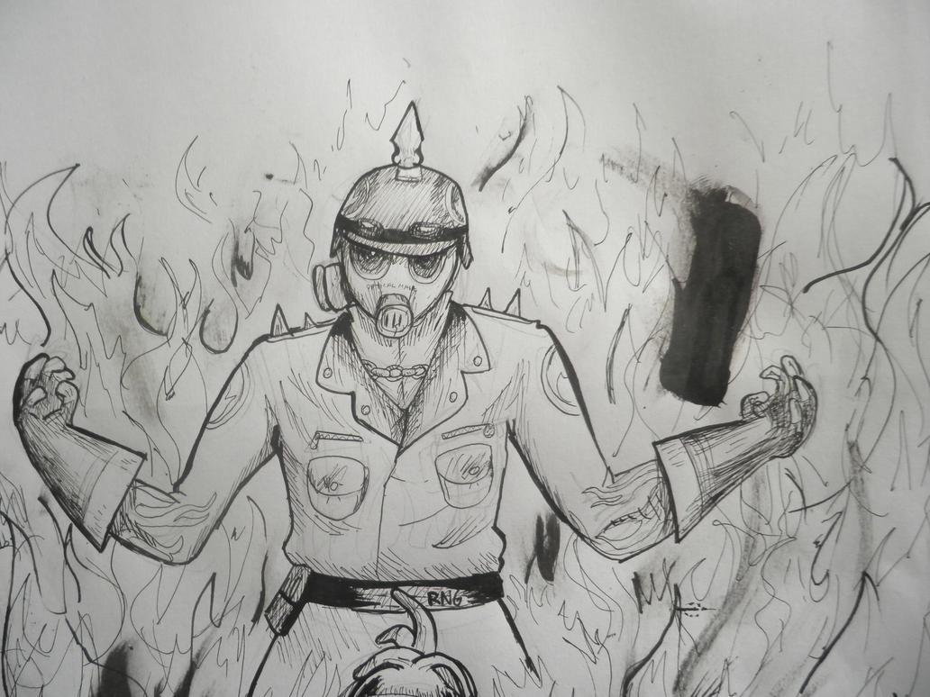 Hardcore Pyro by minarosario