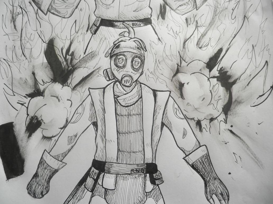 Explosive Pyro by minarosario