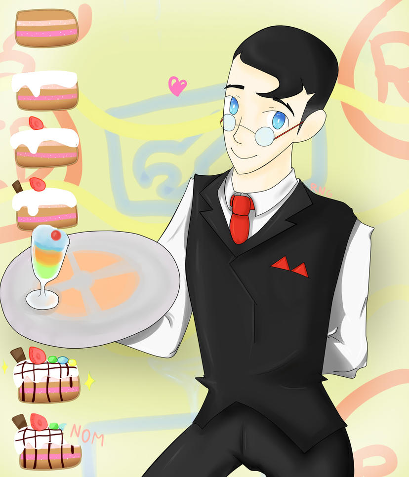 RED Waiter by minarosario