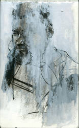 ink self-portrait 3