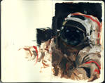 cosmonaut sketch
