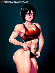Mikasa by R3YDART
