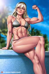 Commission - Corrin (female) by R3YDART