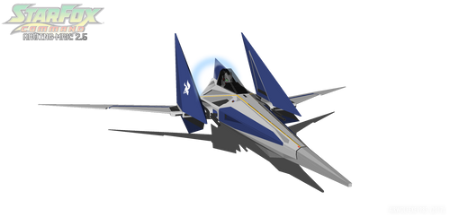 Arwing 2: Version 2 by TheBritishTinDog