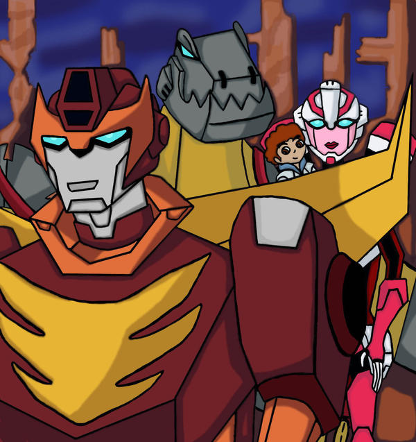 Transformers Animated 86 by maddog78