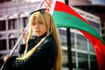 Belarus - Raise the flag