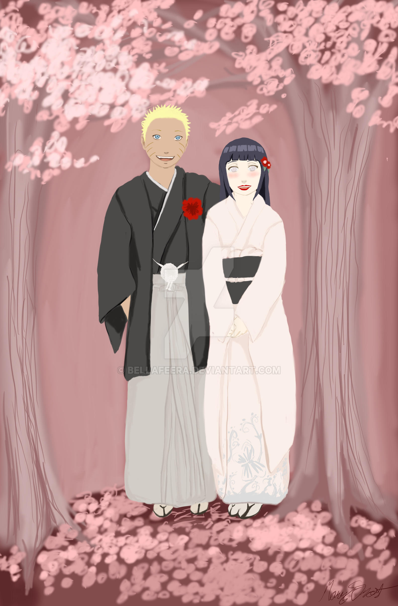Naruto Hinata Wedding.Naruto And Hinata Wedding Anime Top Wallpaper