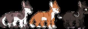 Cat adopts (OPEN) by GummySkeleton