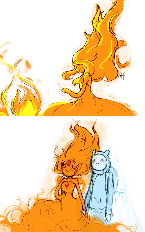 flame princess and finn by onthefritzFlame Princess And Finn Kids