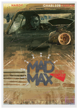 Mad Max: Fury Road (poster design version)