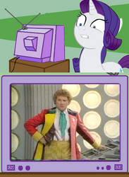Rarity TV Meme: Colin Baker by Joezilla1991