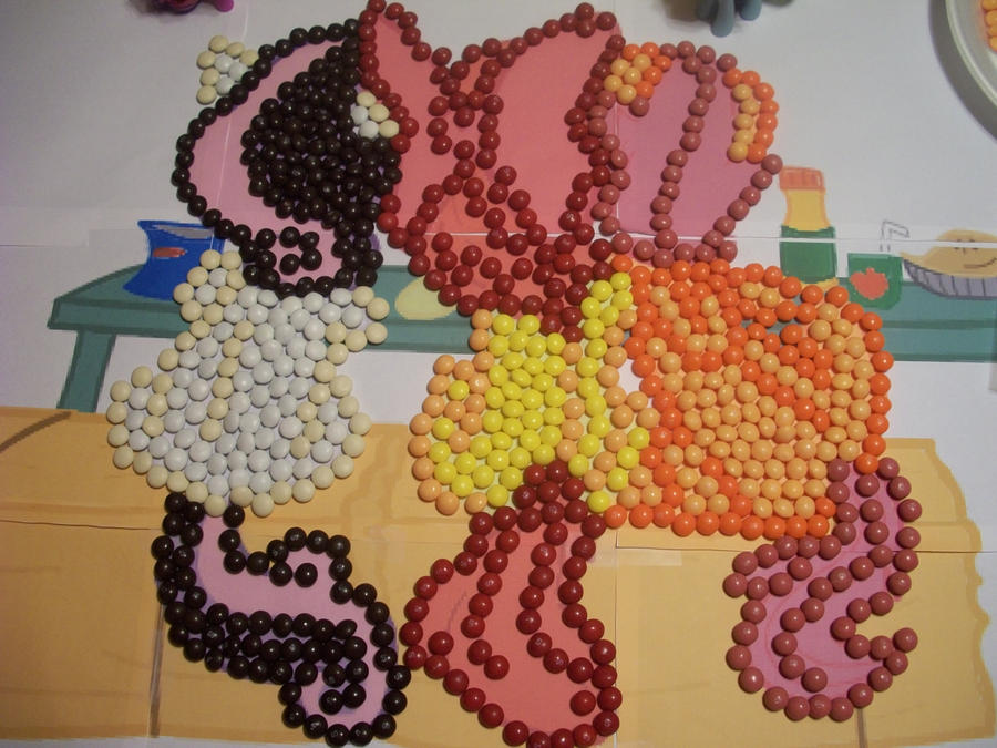 Cutie Mark Crusaders Skittles by Grudgeholder