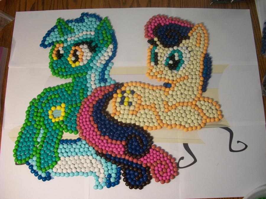 Lyra x Bon Bon Skittles by Grudgeholder